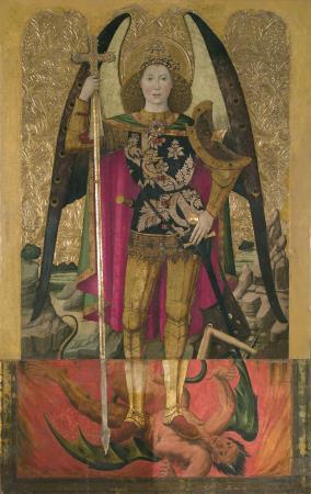 Jaume Huguet, Sant Miquel, cap a 1455-1460