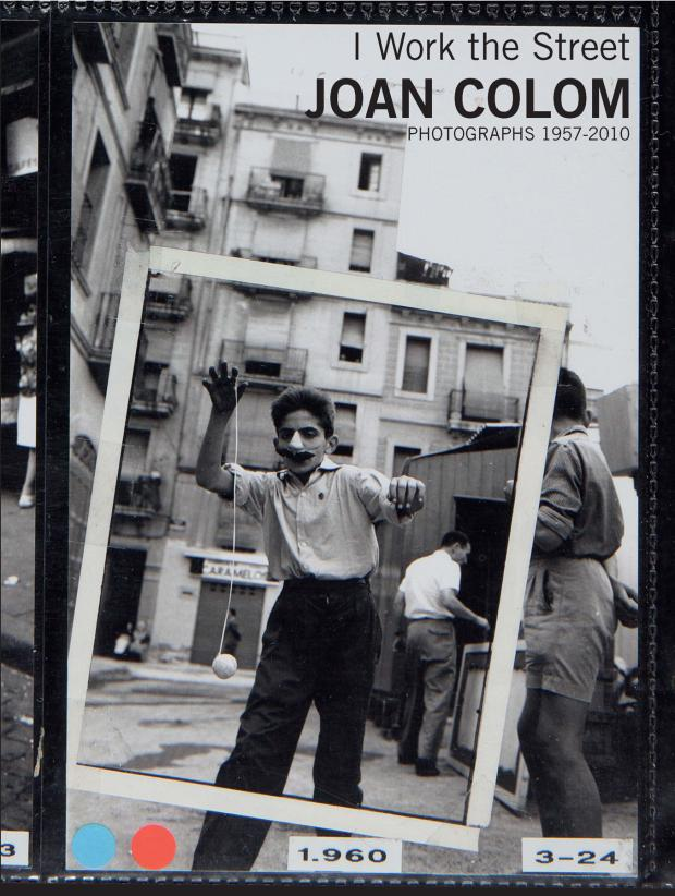 Cover of the book-catalogue I work street, Joan Colom