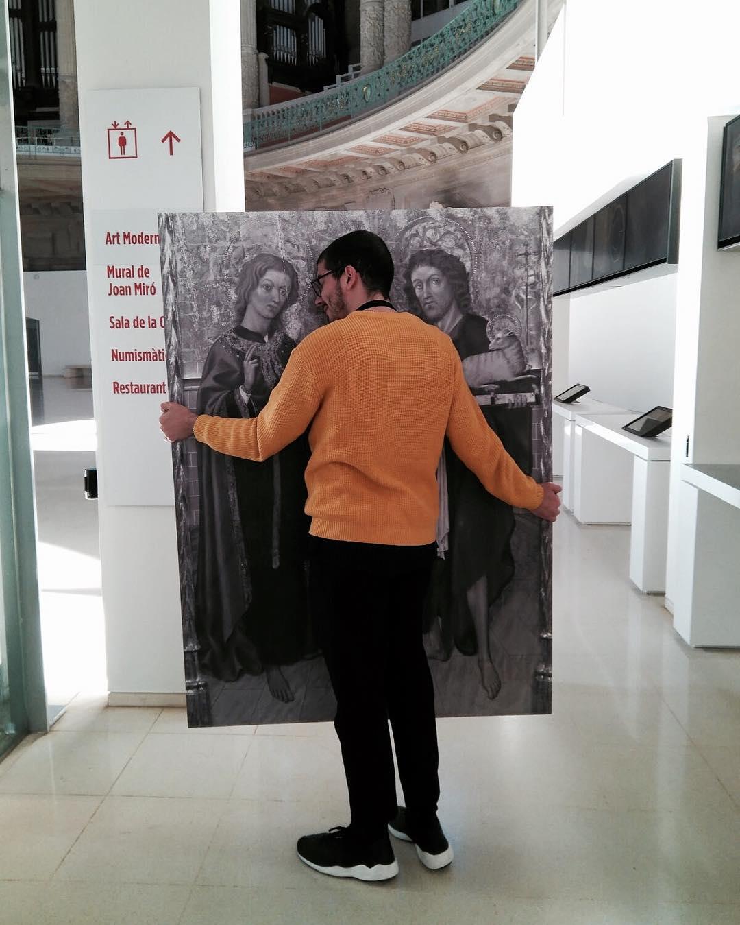 Pràctiques al museu