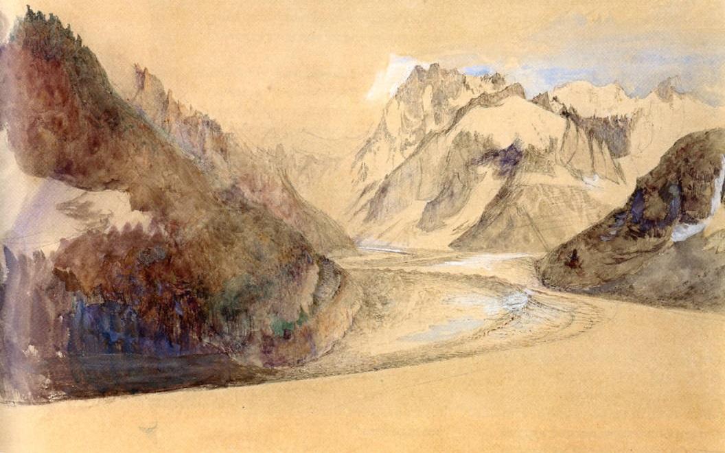 John Ruskin, Mer de Glace