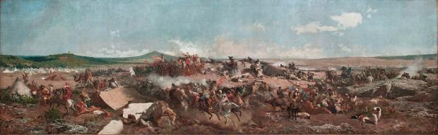 Marià Fortuny, The battle of Tetouan, Rome, 1863-1865
