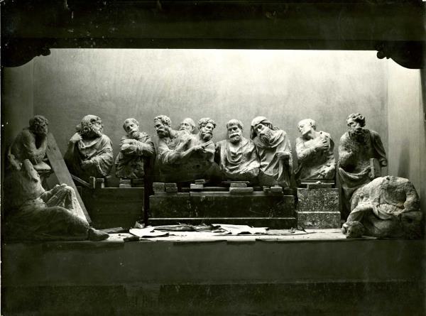 Muntatge de l'obra l'any 1934