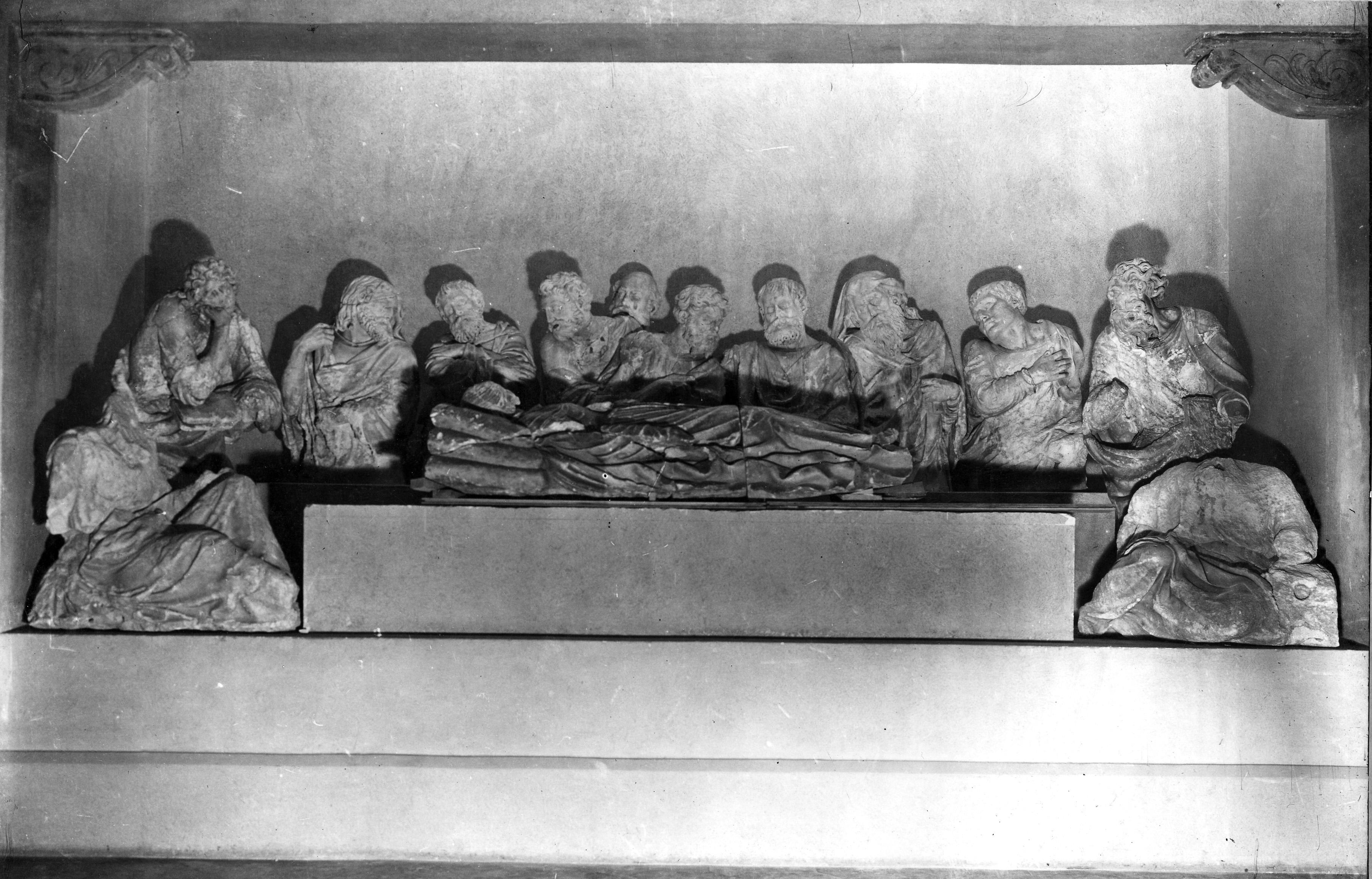 L'obra al Museu d'Art de Catalunya l'any 1943