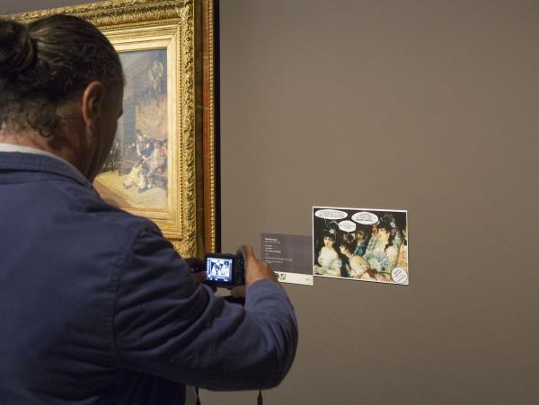 Comic in the Modern Art galleries