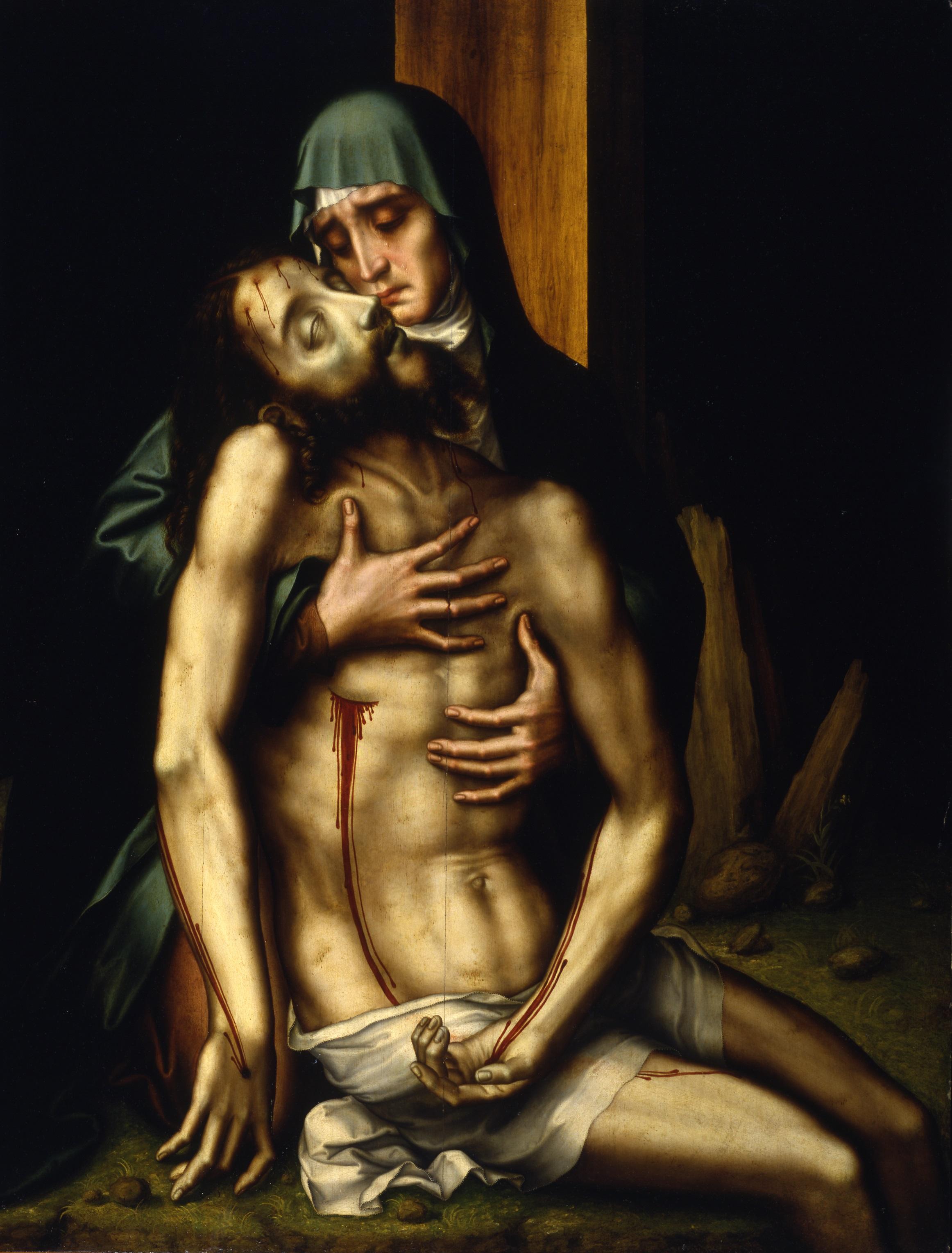 Luis de Morales. La Piedad.