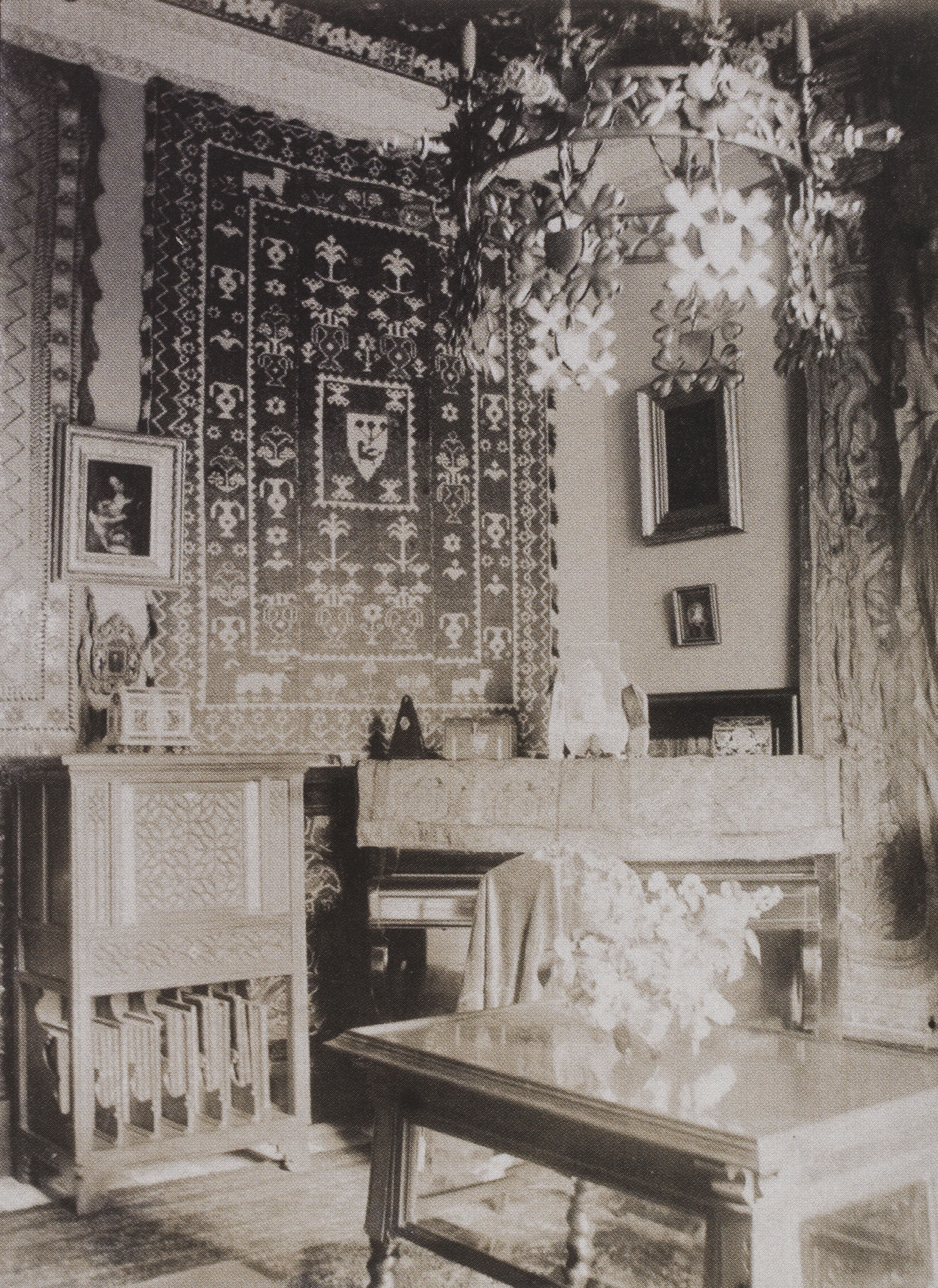 Casa Amatller: Music room, 1901