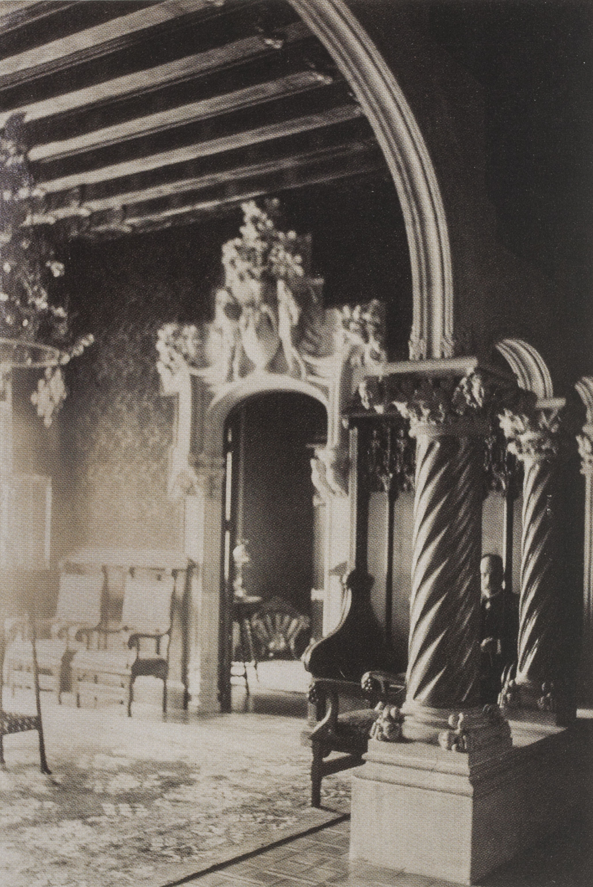 Casa Amatller: dining room. 1901