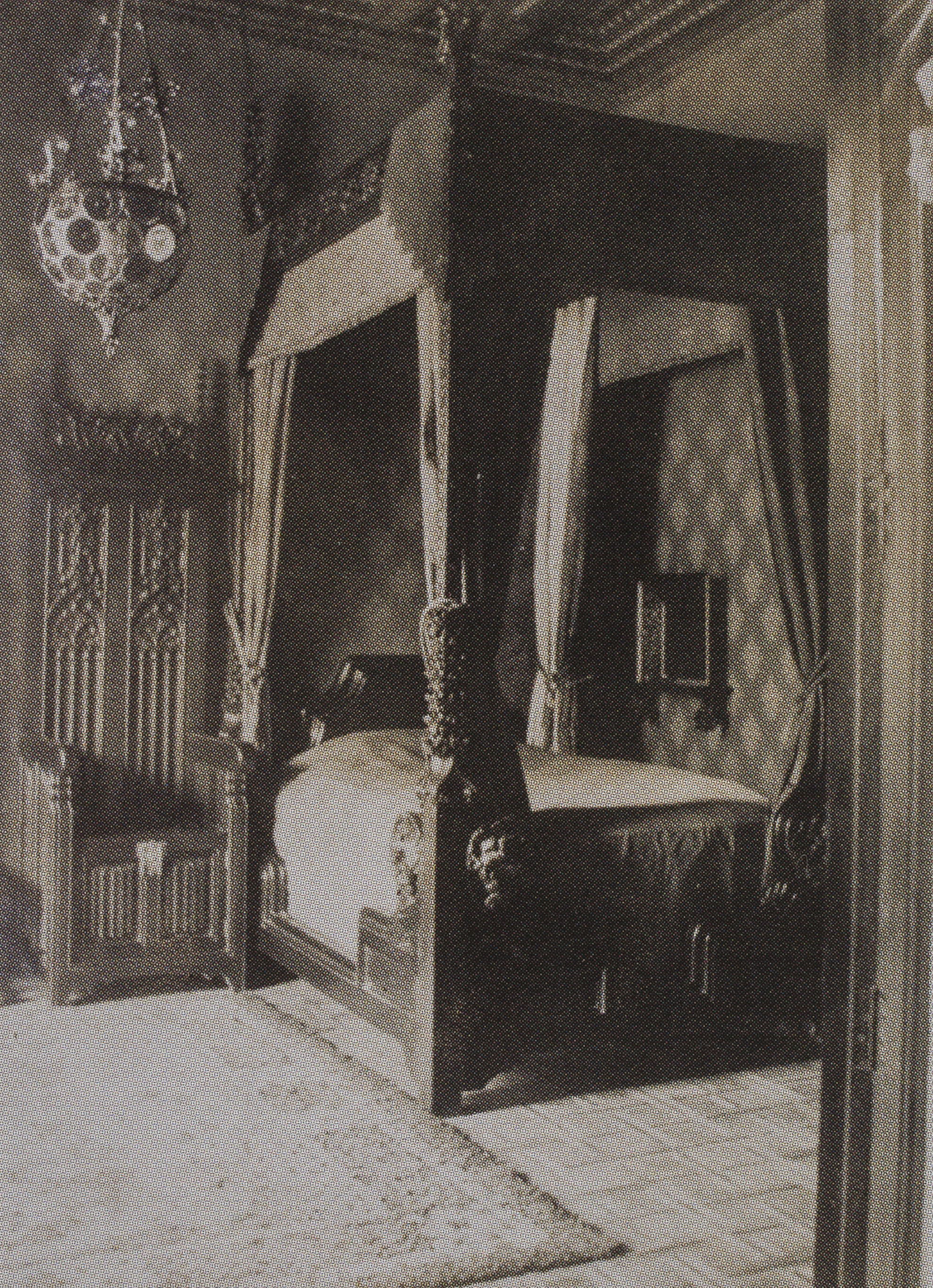 Casa Amatller: music room, bedroom and dining room. 1901