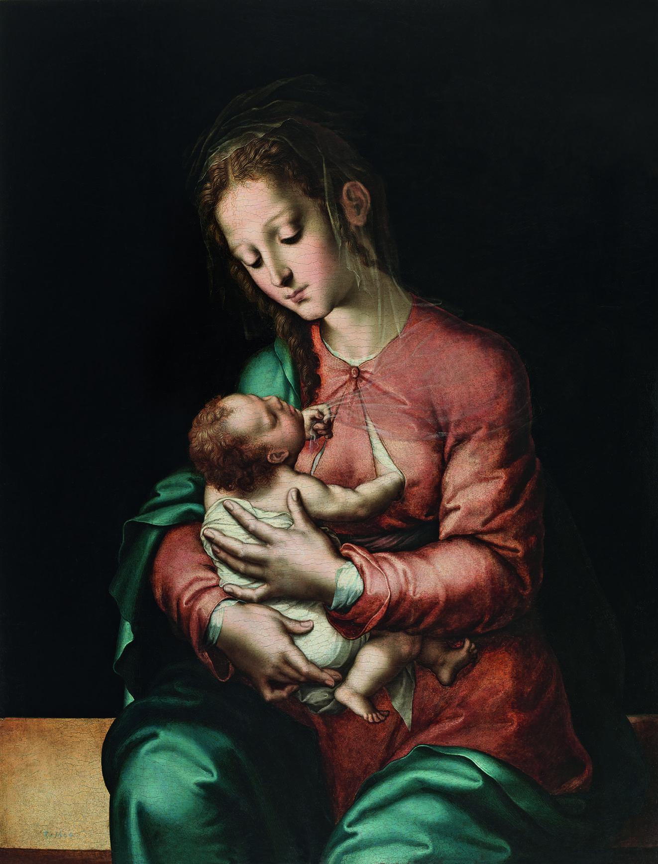 Luis de Morales. La Virgen de la leche