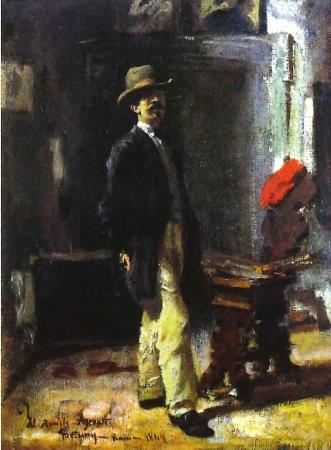 Marià Fortuny, Portrait of Joaquim Agrasot, Rome, 1864, private collection, Andorra