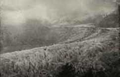 Mer de Glace, Chamonix, daguerreotip, 1849