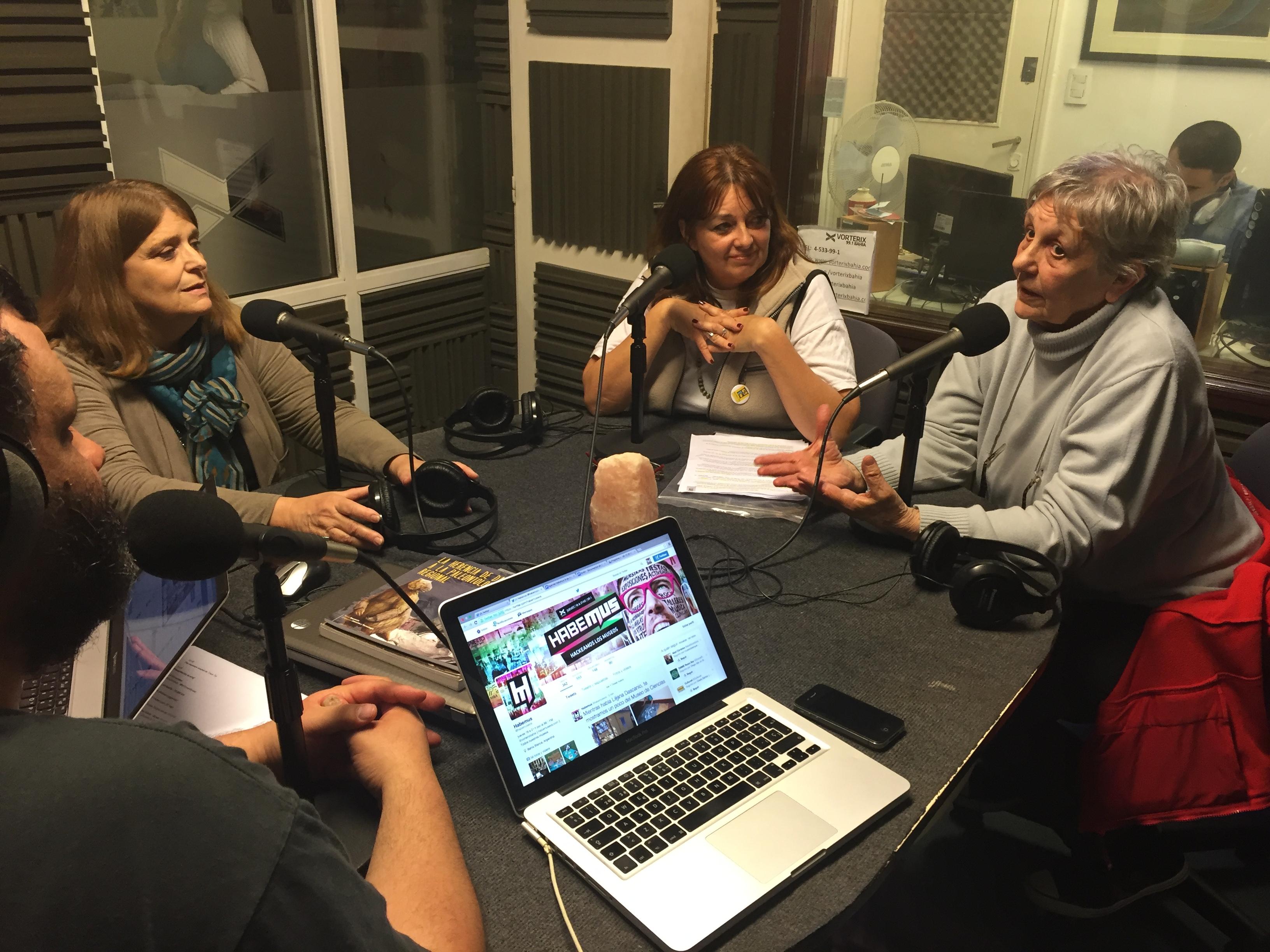 Mesa sobre museos de Ciencias en la radio