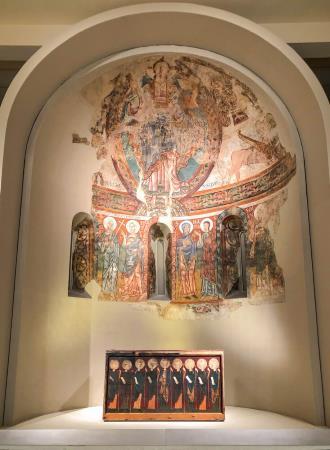 Mestre de la Seu d'Urgell, Absis de Sant Pere de La Seu d'Urgell, segon quart del segle XII