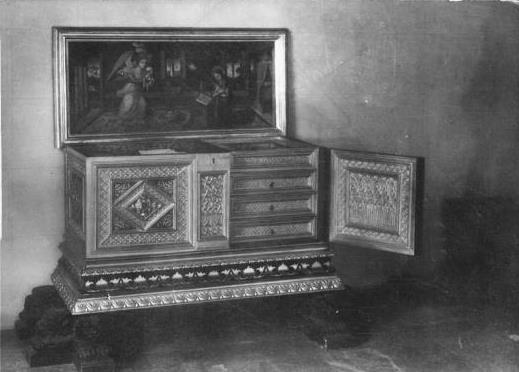 Caixa de l'Institut Amatller d'Art Hispànic, 1923. ©Institut Amatller d'Art Hispànic-Mas C-32949