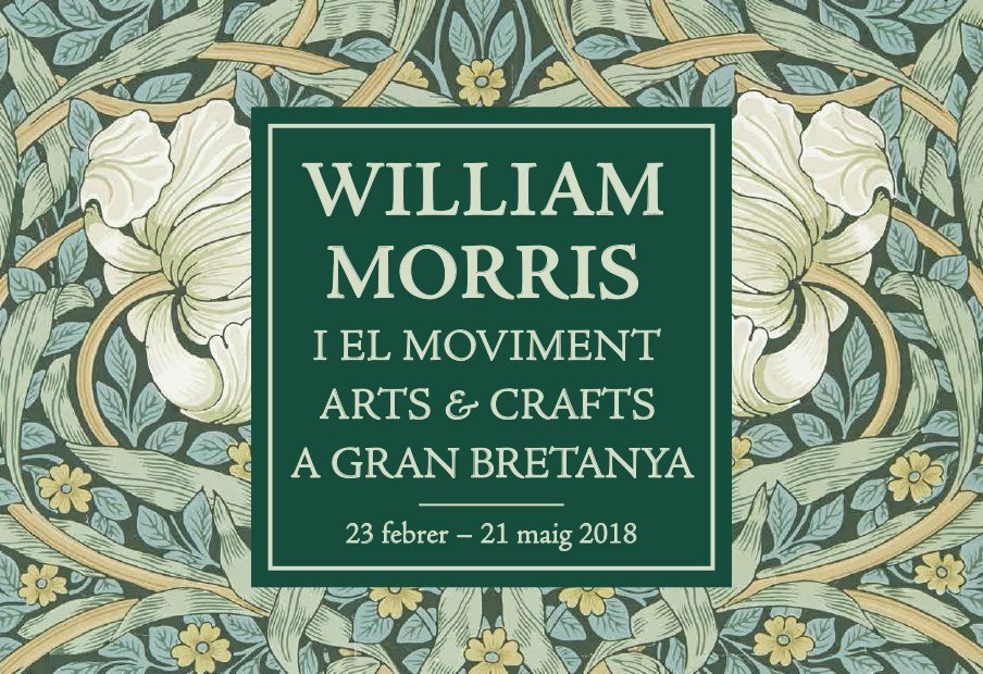 William Morris i el moviment Arts & Crafts a Gran Bretanya