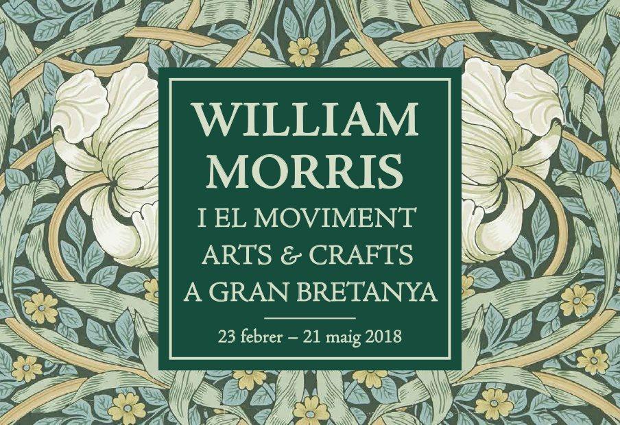 William Morris i el moviment Arts & Crafts a Gran Bretanya