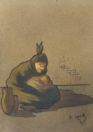 Isidre Nonell, Cretina de Boí, 1896-1897