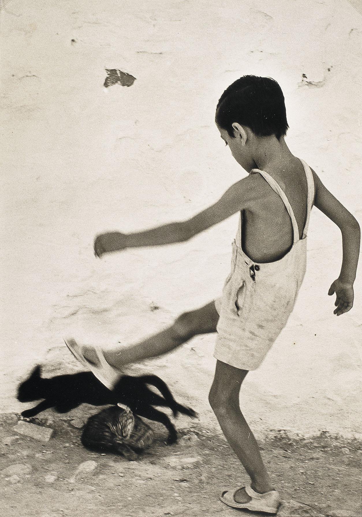 Oriol Maspons, Nen d'Eivissa, 1954