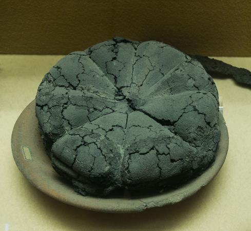 Panis plebeius. Museu de Boscoreale. Font: Wikimedia Commons
