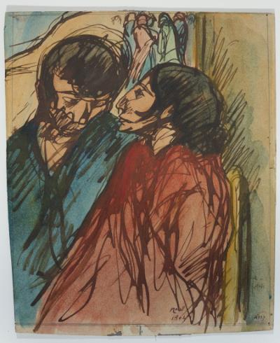 Isidre Nonell, Parella de gitanos, 1904