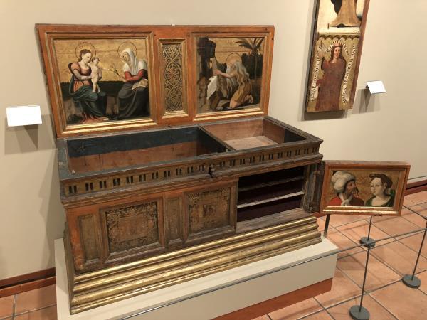 Perot Gascó y taller, Arca de novia, 1529-1546. Museu Episcopal de Vic