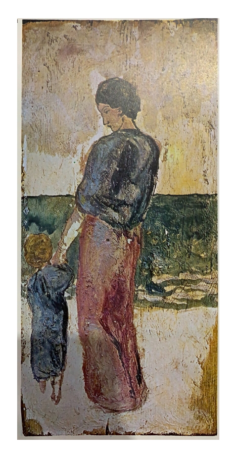Picasso. Mother and Child by the Sea, Barcelona, 1902. Museu Picasso de Barcelona