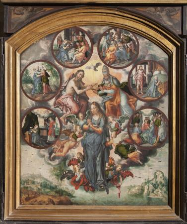 Pieter Aertsen, The Seven Joys of the Virgin, Church of Saint Leonard in Zoutleeuw