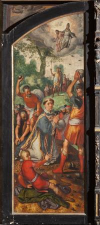 Pieter Aertsen, back of the Zoutleeuw triptych