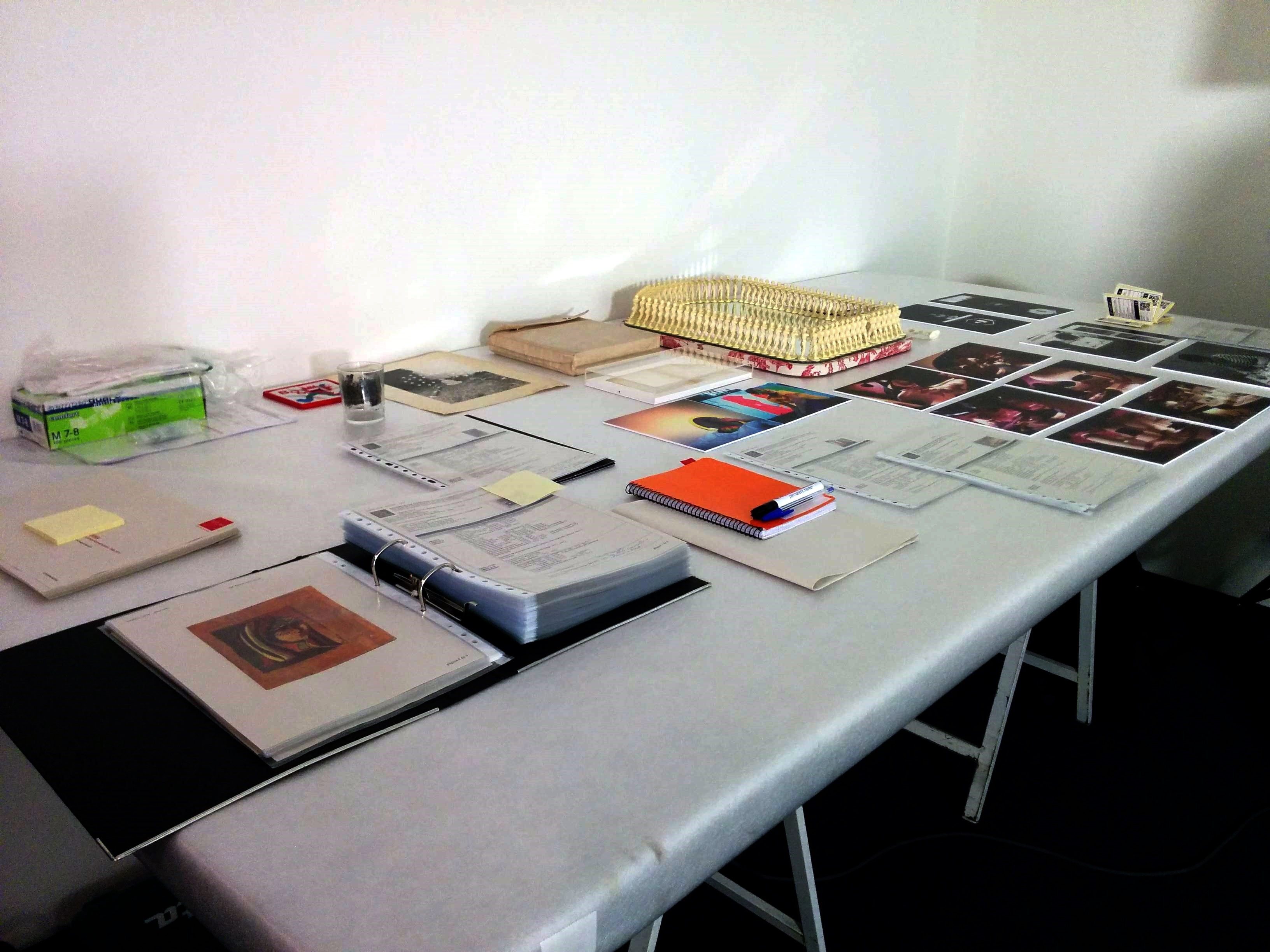 First works and working documentation.