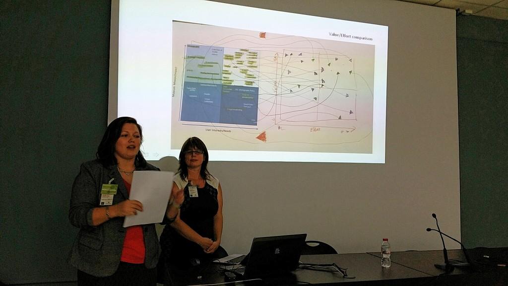 Presentació del projecte d'estratègia de continguts: magnífica mostra de la creativitat i capacitat d'anàlisi crítica demostrades pel grup
