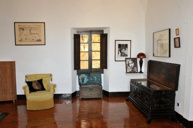 Antigua biblioteca del Castillo de Púbol