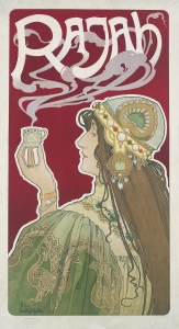 Henri Privat-Livemont. Rajah. 1899.