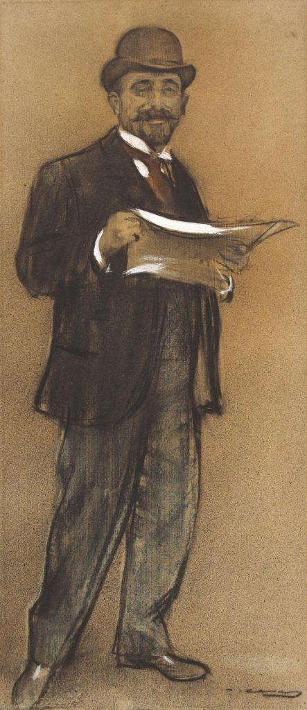 Ramon Casas, Retrat de Francesc Casanovas i Gorchs