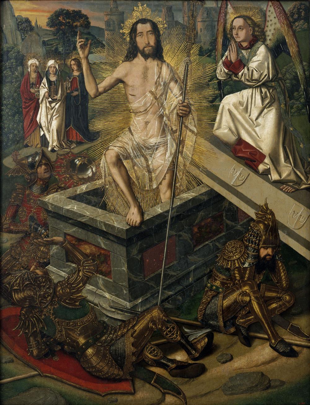 Bartolomé Bermejo, Resurrection, c. 1475