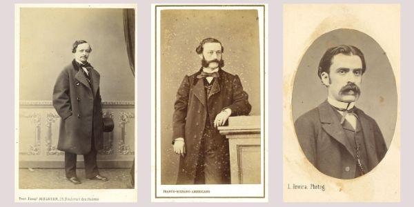 Els retrats en les cartes de visite