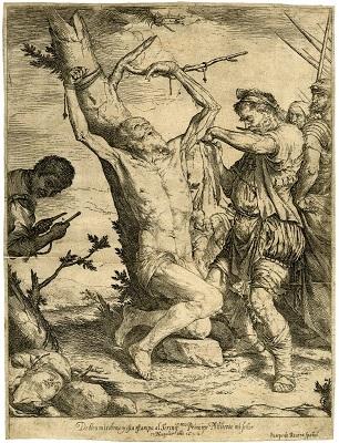Josep de Ribera, Martiri de sant Bartomeu, 1624. British Museum