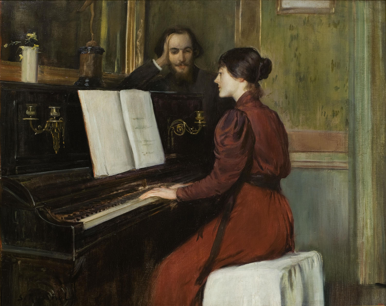 Santiago Rusiñol, Una romança, 1891