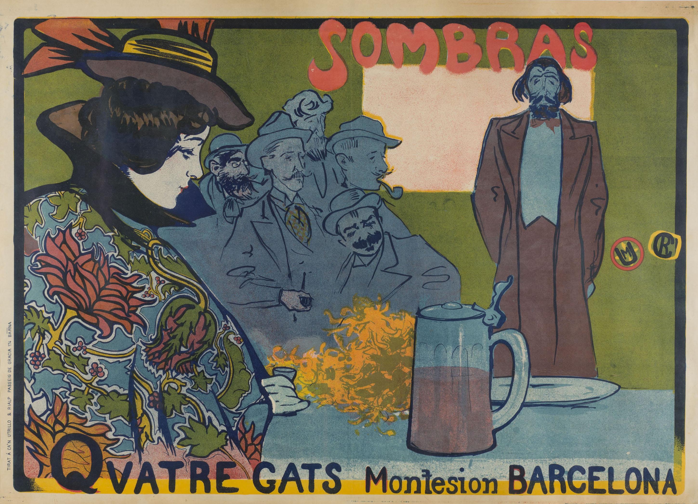 Ramon Casas. Sombras. Quatre Gats, 1897