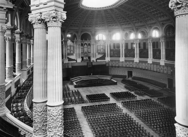 Oval Room of the Palau Nacional