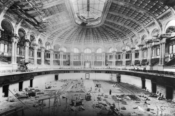 Sala Oval el 1928