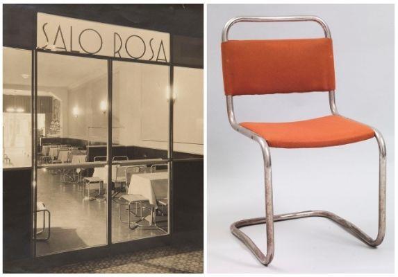 Thonet Marcel Breuer, Cadira Cantilever B.33, 1927-2928 Josep Sala Campàs, Sense títol, 1933