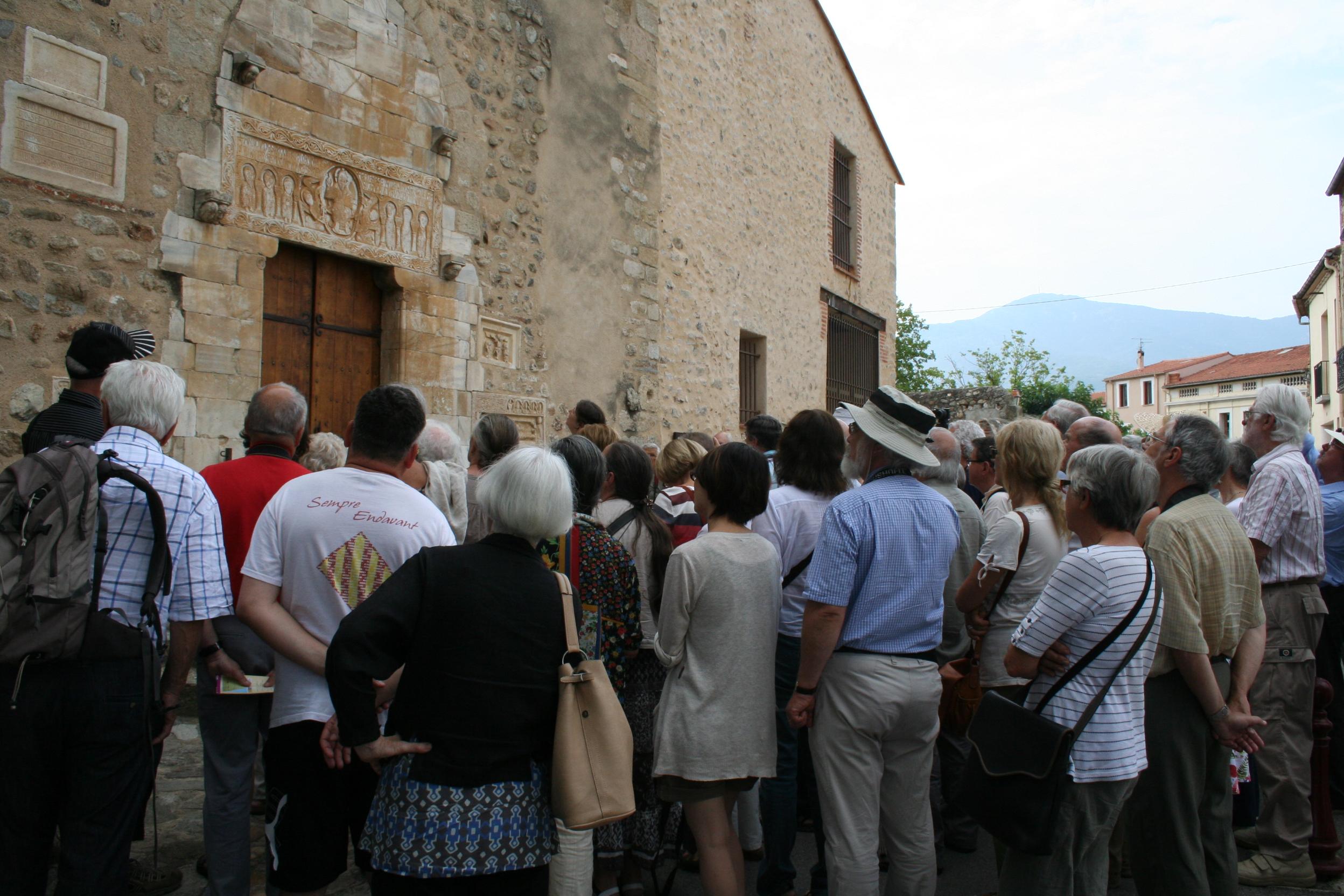 Sant Genís de Fontanes, al Vallespir