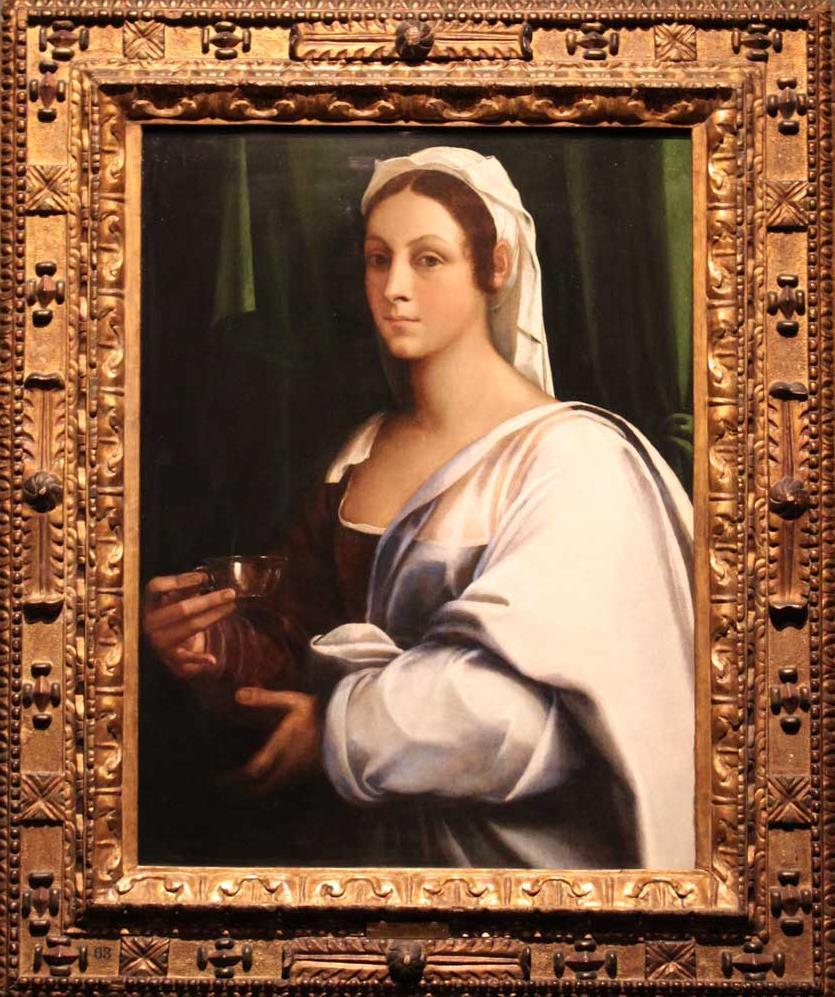 Sebastiano del Piombo, Portrait of a lady, Harewood House