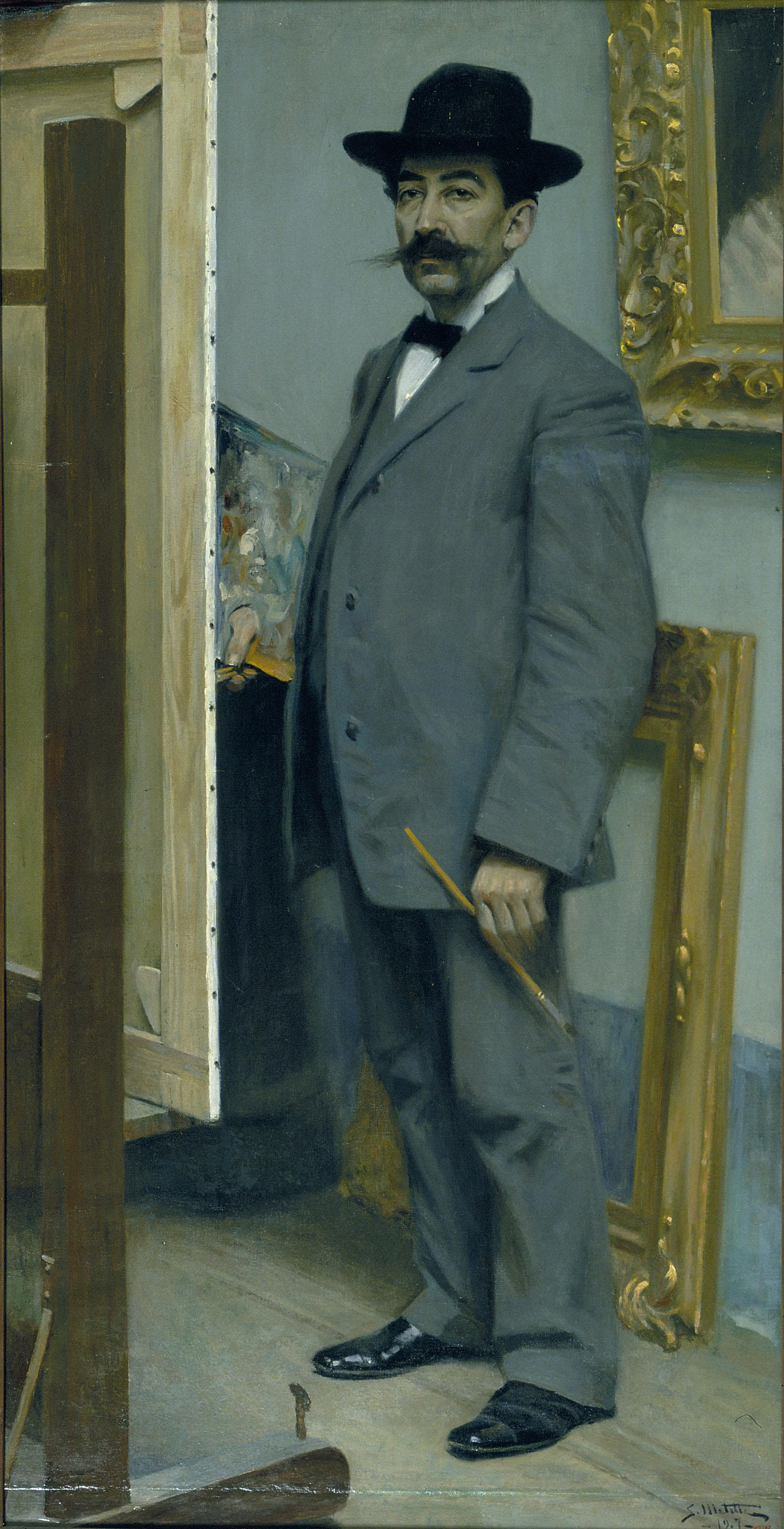 Segundo Matilla, Self-portrait, 1907