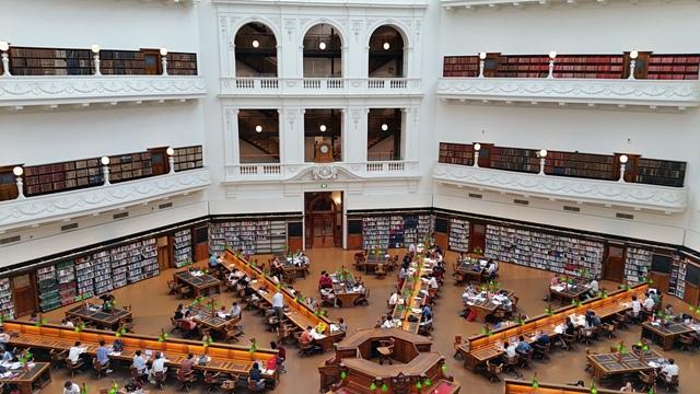 La State Library of Victoria. Foto: Conxa Rodà