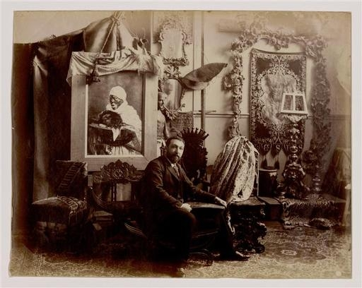 The Workshop of Giuseppe Signorini, Paris, about 1889