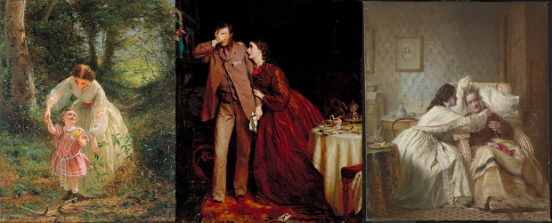 George Elgar Hicks. La missió de la dona (1862-1863)
