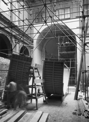 Works for the new Romanesque installation in 1973
