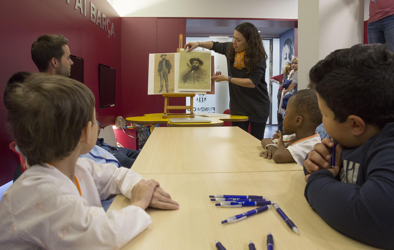 El projecte del museu amb l'Hospital Maternoinfantil de la Vall d'Hebron