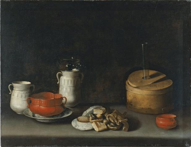 Juan van der Hamen, Still-life with Porcelain and Sweets, c. 1627. Museo Nacional Thyssen-Bornemisza, Madrid.